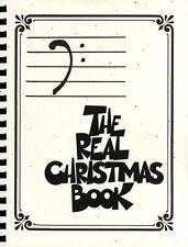 Le véritable livre de Noël Bass Clef Edition apprendre à jouer du piano musique Pour Guitare Livre