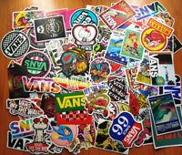 "100 different mixed VAN""S stickers skateboard bike PC Graffiti art vinyl decals"