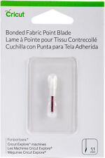 *New* BONDED FABRIC POINT BLADE Cricut Cartridge Factory Sealed Free Ship