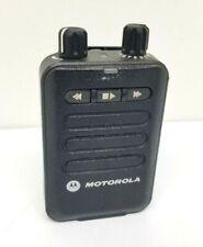 Motorola Minitor Vi (6) 2 Tone Voice Pager 5 Ch Battery Belt Clip Fire Dept Ems