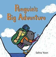 PENGUIN'S Big Adventure (Brand New Board Book) Salina Yoon