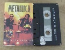 Tape K7 Cassette METALLICA The Very Best '98 Audio World