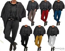 Es poco Lagenlook Raff-vomite treggins pantalones 44 46 48 50 52 54 56 58 L-XL-XXL-XXXL