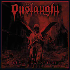 Onslaught : Live Damnation CD Album Digipak (2018) ***NEW*** Fast and FREE P & P