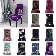 Polyester Removable Chair Cover Party Decor Elastic Banquet Seat Slip Covers