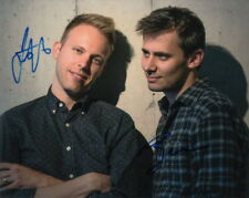 BENJI PASEK and JUSTIN PAUL.. The Greatest Showman Songwriting Team - SIGNED