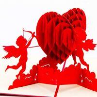 3D up Glückwunsch Grußkarten Love Geschenkkarten Geburtstag Party Einladung W