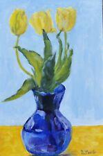 The Blue Vase, original oil painting