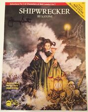 SHIPWRECKER AD&D TSR Mayfair RPG Cover Proof SIGNED Janny Wurts Artist File Copy