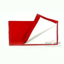 Anaporium Red Jewelry Polishing Cloth Shine Gold Watches Silver Metal Large New