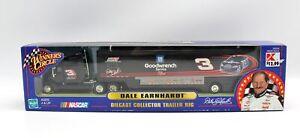 Winner's Circle #3 Earnhardt Sr Goodwrench Black Diecast Trailer Rig 1:64 2000