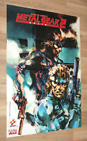 2000 Metal Gear Solid 2 Sons of Liberty Rare Poster 79x56cm Playstation 2 PS2