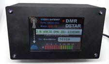 SALE! 3.5 inch Nextion display case Black w/USB jack Jumbospot MMDVM Zumspot