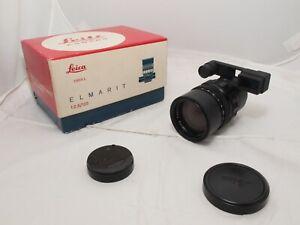Leica Elmarit RF 135mm  f2.8 Telephoto Lens w/eyes. Canada. Ex++  Leica M6, M240