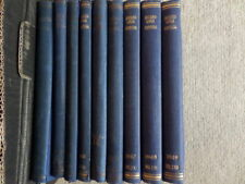 ARCHAEOLOGIA CANTIANA - TRANSACTIONS OF KENT ARCHAEOLOGICAL SOCIETY 9 vols 1940s