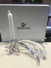 Swarovski Comet Candleholder Crystal Light Shooting Star Austrian Figuring