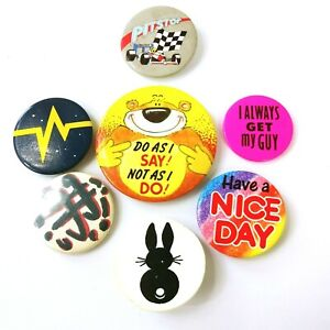 Assortment of Collectable Badges / Pins (x7)