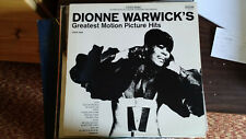 Dionne Warwick's Greatest Motion Picture Hits record