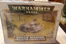 Games Workshop Warhammer 40k Space Marines Predator Destructeur Tank roguetrader