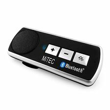 NUOVO Bluetooth Car Kit vivavoce Multipoint Vivavoce per Telefono Cellulare iPhone