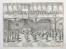 Hogenberg Print Dutch Revolt War Events Bruxelles Belgium (n) - 1590
