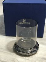 Swarovski Crystal New Allure Tea Light Candle Holder In Silver Tone