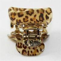 3 Size Women Ladies Girls Leopard Hair Clip Claw Hair Accessory Headpiece C U0C0
