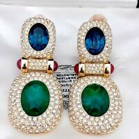 The Most Amazing Pair of Grosse for Christian Dior Clip on Earrings Ever