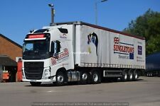 Truck Photos Singletons Transport Volvo FH & Tautliner GN20 YNY Charity Lot