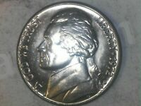 1972 D Jefferson Nickel  !!  - Free Shipping !! GREAT STEP DETAIL !! TAKE A LOOK