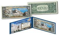 MOUNT RUSHMORE NATIONAL MEMORIAL MOUMENT Legal Tender U.S. $1 ONE-DOLLAR Bill