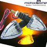 LED Clignotants Transparent Blanc Certification E Moto Quad Scooter Atv