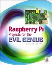 Raspberry Pi Projects for the Evil Genius, Norris, Donald, Very Good Book