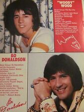 Woody Wood, The Bay City Rollers, Full Page Vintage Pinup