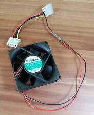 Ventilador FAN air Cooler Sunon kde1208ptb3-6 12v 1.4w 80x80x25 Molex top!