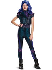 Disney Mal Descendants 3 Classic Size M 7/8 Girls Licensed Costume Disguise