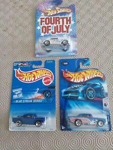 Hotwheels Joblot x3, 1957 Chevy x3