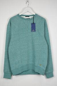 SCOTCH & SODA Men's ~MEDIUM Mint Mélange Crew Neck Sweatshirt Jumper 11221 mm