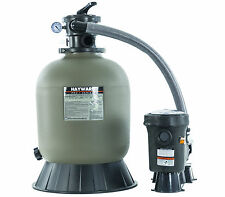 Hayward S166T SandMaster Above Ground Swimming Pool Filter System w/1 Hp