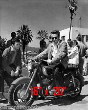 """James Dean~Triumph Motorcycle~Biker int~ Photo 16"""" x  20"""""""