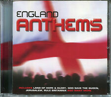 ENGLAND ANTHEMS CD - 3 LIONS ON THE SHIRT & MORE