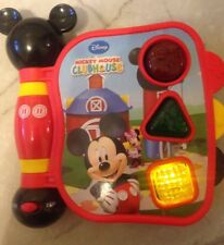 Disney Mickey Mouse Clubhouse Talking Interactive Book Learning Bilingual toy