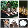 Waterproof LED Solar Lantern Light Powered Hanging Outdoor Garden Candle Lamp