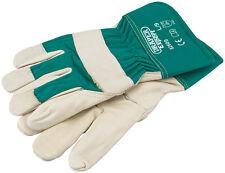Draper 82609 Premium Leather Gardening Gloves
