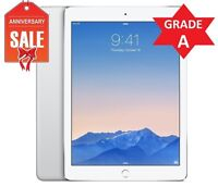 Apple iPad Air 2 64GB, Wi-Fi, 9.7in - Silver (Latest Model) - Grade A (R)