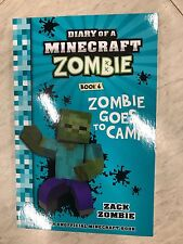 MINECRAFT DIARY OF A MINECRAFT ZOMBIE BOOK 6 GOES TO CAMP BRAND NEW BARGAIN