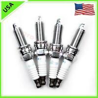 4pcs New Laser SILZKR7B11 9723 Iridium Spark Plugs For Hyundai Elantra Santa Fe