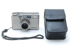 【TOP MINT】Contax T3 35mm F/2.8 Point & Shoot Film Camera Double Teeth From JAPAN