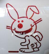 Happy bunny rabbit car truck window laptop Vinyl sticker decal kiss my ass butt