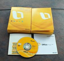 Microsoft Office Mac 2008 Home & Student Full Retail 3 users 3 KEYS GZA00006